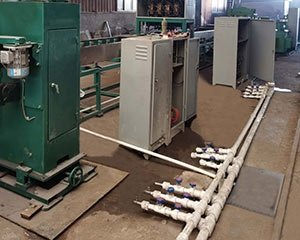变压器片式散热器生产线